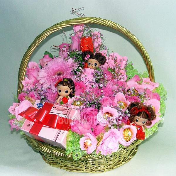 Букет цветов для девочки своими руками