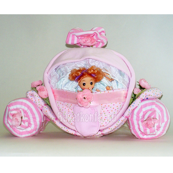 Подарок для новорожденной девочки своими руками мастер