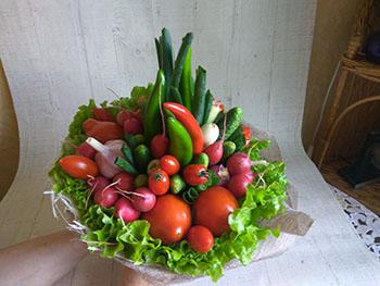 11 Купить букеты из овощей и фруктов