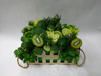 12 Купить букеты из овощей и фруктов